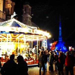Piazza Navona Natale 2014